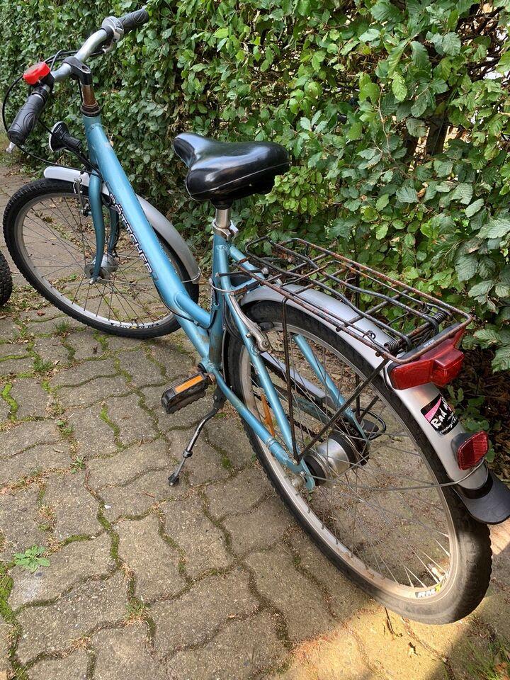 Pigecykel, citybike, 5 gear