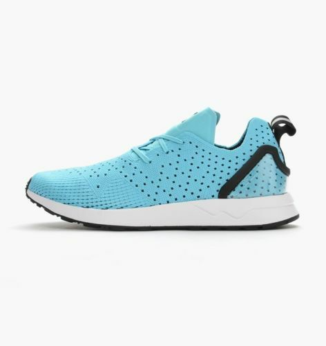 ADIDAS ORIGINALS ZX FLUX RACER ASYM PRIMEKNIT  blueE  S79064  UK 8, 9, 10