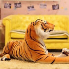 Manmade Lifelike Tiger Plush Animal Doll Children Kids Stuffed Toy