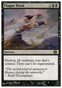 1x-Plague-Wind-MTG-8th-Edition-NM-Magic-Regular
