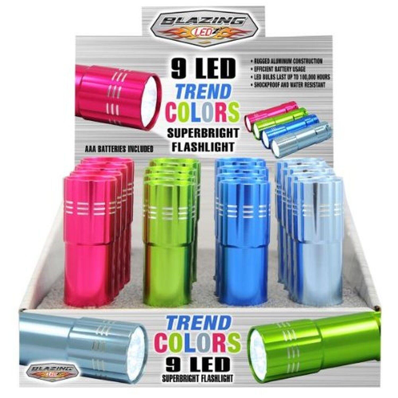 Blazing Ledz Super Bright Flashlights Aluminum Led 3 Aaa  White T  Of 16  quality assurance