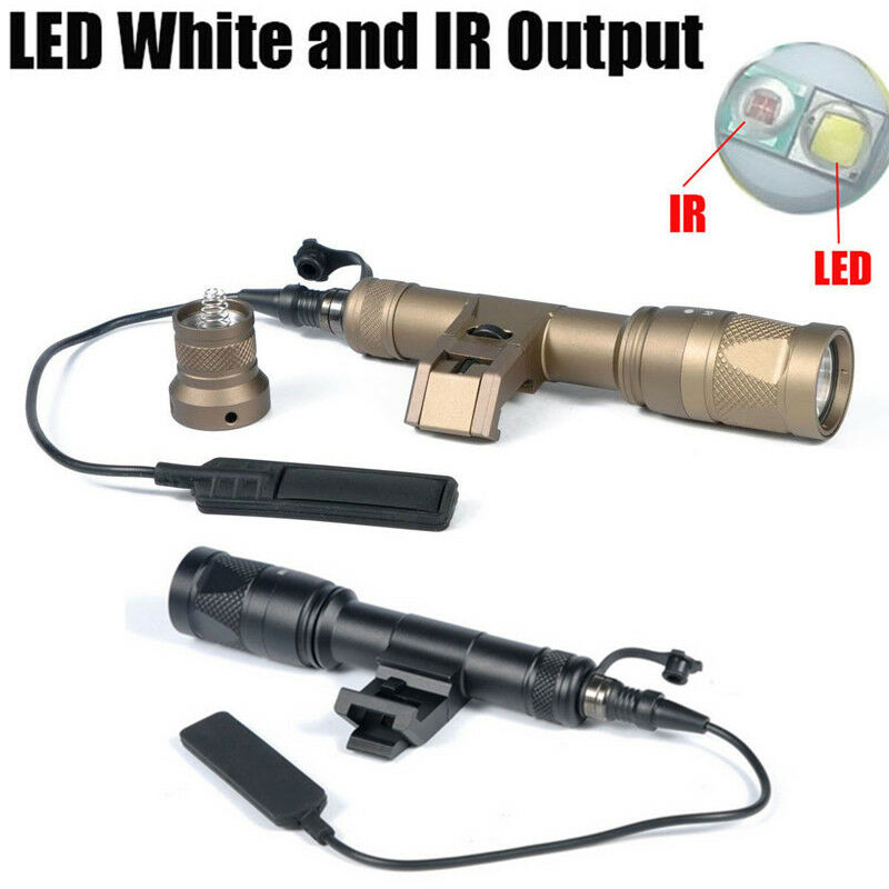 IM600V IR Scout Light LED Flashlight White Light Infrared Side  Mount Tape Switch  outlet on sale