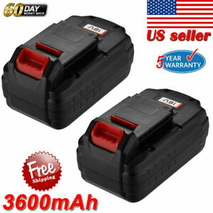 18V-3-6Ah-18V-Battery-For-PORTER-CABLE-PC18B-PCC489N-Cordless-Tools-PC188-2Pack