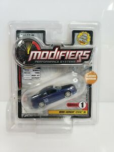 Modifiers-Performance-Systems-1999-Honda-Civic-Si-Blue-Series-1-1-64-HTF