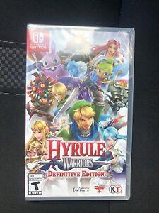 Hyrule Warriors Definitive Edition Nintendo Switch 2018 Brand New Free Ship 45496592745 Ebay