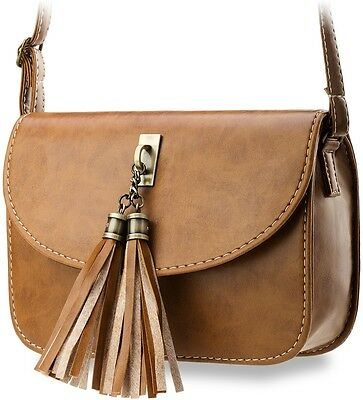 geräumige Damentasche Clutch- Tasche Umhängetasche mit Fransen
