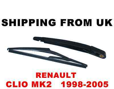 Windscreen Wiper Arm #2 Blade Rear Fits Renault Clio 1998-2012