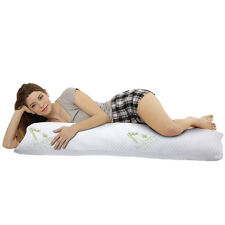 Hypoallergenic Aloe Vera Bamboo Memory Foam Full Body Pillow For Adults Comfort