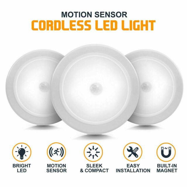 6led Pir Motion Sensor Night Light Infrared Wireless Wall