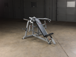 Incline Bench Press Plate Loaded Body Solid Pro Club Lvip Leverage Fitness 638448001879 Ebay