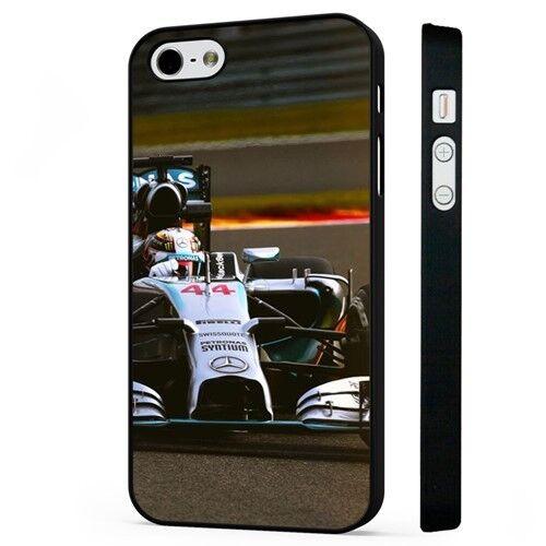 Lewis Hamilton F1 Racing Negro Funda de teléfono se ajusta iPHONE