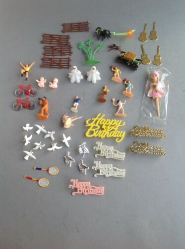 Collection Of Cake Decorating Ornaments