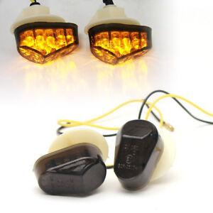 LED FLUSH FIT FAIRING INDICATORS YAMAHA YZF R1 R6 R6S 600 1000 FZ1S FZ6S FAZER