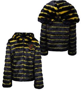 cappotto Faux giacca Womens scialle Rihanna 575809 P1 blu Puma Fenty X con 01 cappuccio Fur 04a4xvW