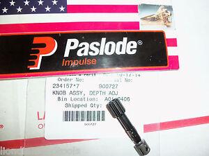 """NEW"" Paslode Part # 900727 KNOB ASSY, DEPTH ADJ"
