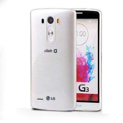 Ultra Thin Slim Clear  Soft TPU Gel Case Cover FOR LG G2 G3 D855 D850 D851 D830