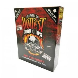 1-BOX-of-The-World-039-s-Hottest-Corn-Chips-SUPER-XXX-HOT-Chilli-Seed-Bank-NEW