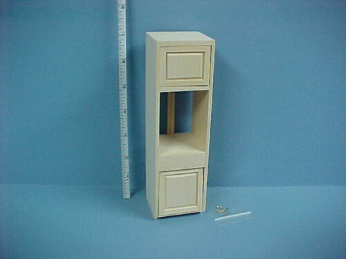 Unfinished #14410-1//12th Scale Miniature Kitchen Oven Cabinet