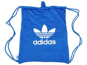 cbd19b04ad Image is loading adidas-Originals-Gymsack-Tricot-Drawstring-Backpack -Training-Bag-
