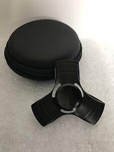 10 EDC Fidget Hand Spinner BLACK Torqbar Metal Focus ADHD Autism Toy aluminum T2