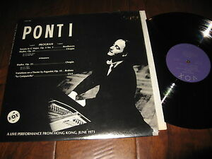 Ponti-Record-Classical-Sonata-C-Major-Etudes-Beethoven-Chopin-Brahms-LIve-1971