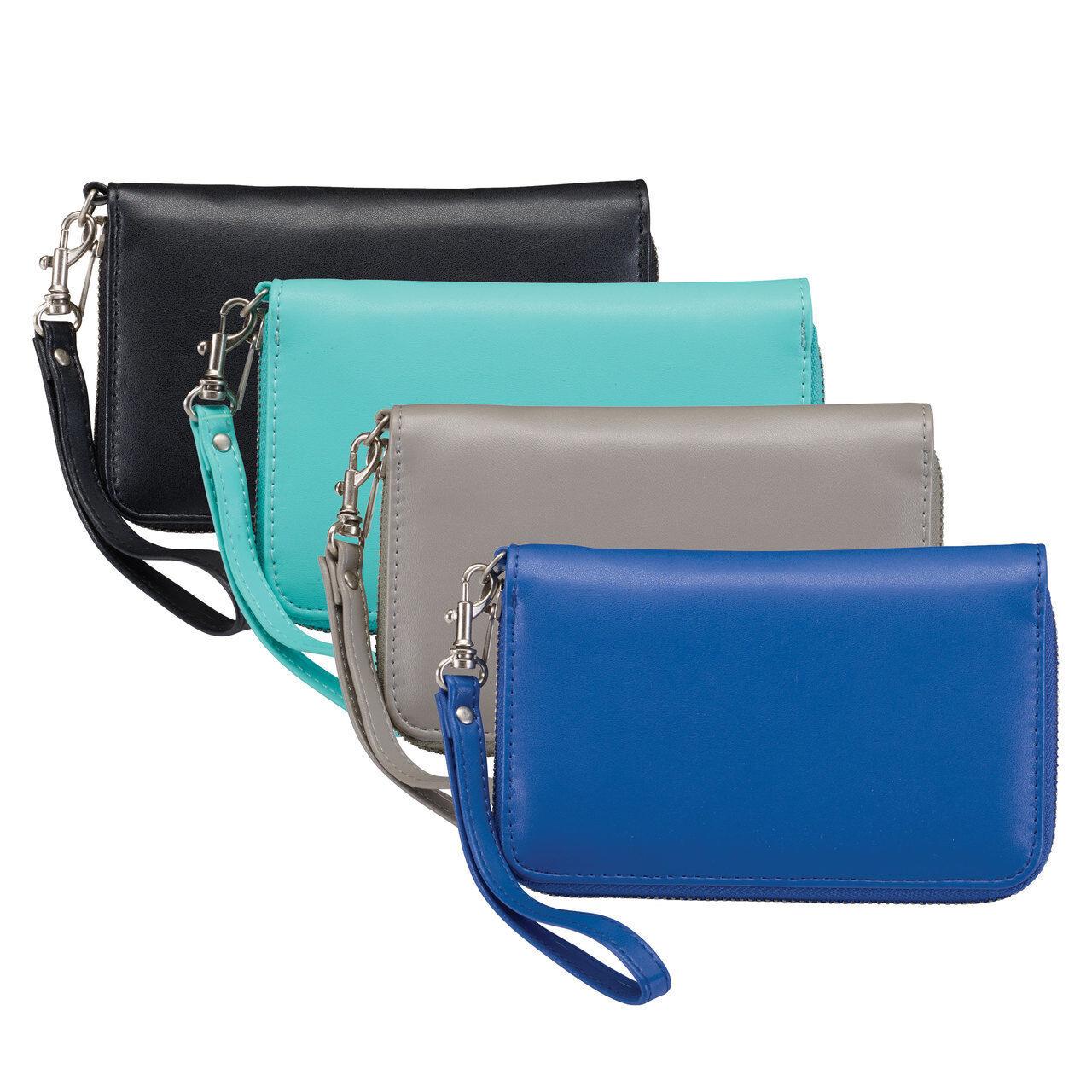 Lewis N Clark Women's RFID Blocking #Shetravels Wristlet Wallet 7042