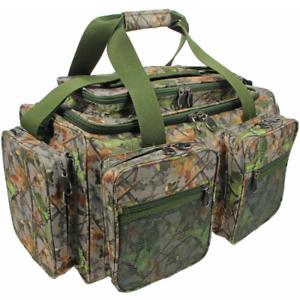 Angelkoffer & -boxen Logisch Xxl Carryall Angeltasche Camouflage Xpr 61x29x31cm Mit 5 Außentaschen Ngt