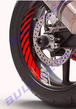 BULL-LEDS ✓ 2PCS X KTM RED TYRE STRIPS & LOGO RC200 DUKE RC390 390 DECAL