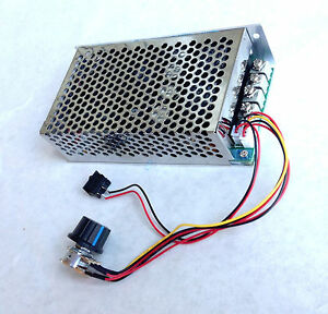 Speed Control For Dc Motor Manta 24 To 48 Volt 100 Amp 5000 Watts Ebay