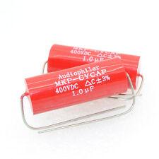 2pcs  MKP CYCAP 1.0uf/400v Audiophiler MKP-kondensotor Tubular Capacitor-4355