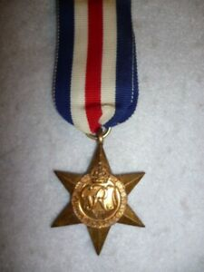The-France-amp-Germany-Star-Medal-WW2-Genuine-for-Normandy-Campaign