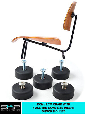 DCM / LCM SHOCK MOUNTS FOR EAMES Herman Miller CHAIR, SHOCKMOUNT REPLACEMENT
