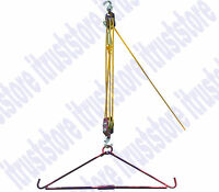 440 Lb Gambrel And Pulley Pully Hoist Set For Deer Hunting Lifting Hanging Tool