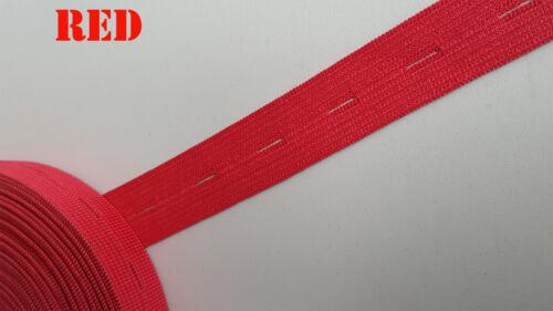"""19mm 3//4/"""" bouton trou élastique tricot tissé tailles à coudre stretchnotion pantalon"""