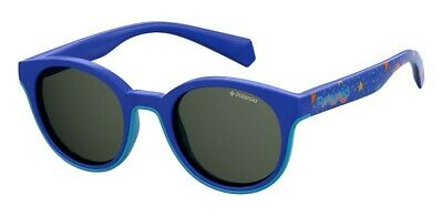 Occhiali Da Sole Sunglasses Polaroid Pld 8036 S Pjp M9 Blue Polarizzato 100% Uv