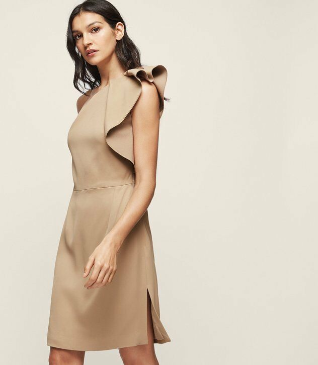 Stunning Reiss 'Selika' 'Selika' 'Selika' one shoulder dress size 8 RRP  - Current Season  bb0f3c