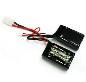 Paquete-De-Silla-De-Montar-CARISMA-GT14B-GT16MB-7-4V-2000mAh-Bateria-Lipo-2S-CA14761