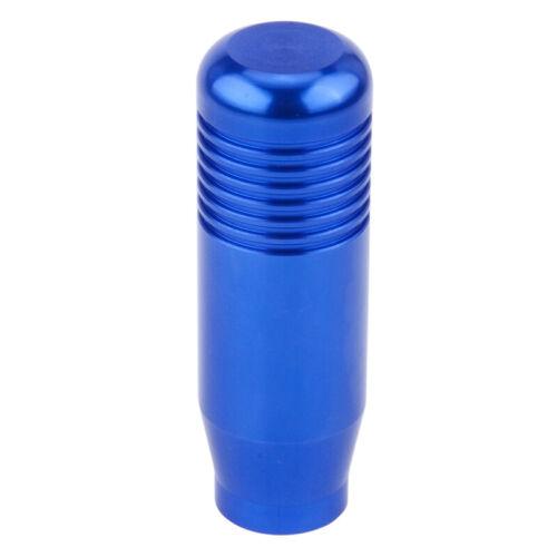 Cool Blue Universal Aluminum Manual Car Auto Gear Stick Shift Knob Shifter Lever