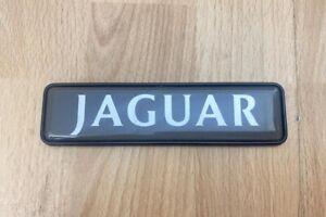 """JAGUAR"" BOOT BADGE / TRUNK LID PLAQUE - Jaguar XJ6 XJ8 XJR 1994-2002 #0766"