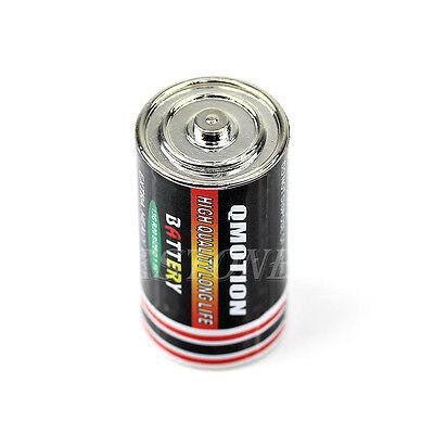 Secret Stash Diversion Safe Battery Pill Box Hidden Money Coins Case Container
