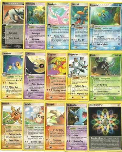 COMPLETE 68 Nonholo LEGEND MAKER Pokemon Card Set-15 Rare+26 Uncom+27 Common