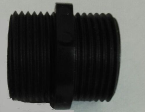 """Washing Machine Hose Extender Pipe Extension Fitting 3//4/"""" BSP Plastic Connector"""