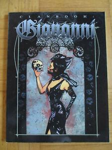 Vampire The Masquerade – Clanbook Giovanni (new edition 2001) - Sourcebook engli