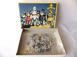 Puzzle-99-pieces-complet-saban-039-s-Power-rangers-1996-Jeu-de-societe-DEICHMANN