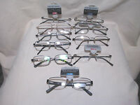 Men's Foster Grant Reading Glasses Wire Rim/rimless Choose Your Style & Strength