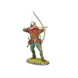First Legion Soldiers MED022 Medieval Agincourt English Archer No 1 Collectible
