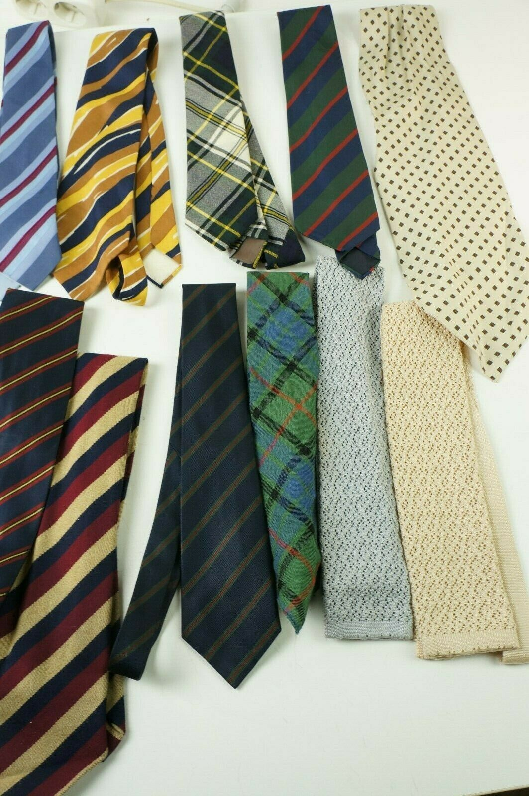 Krawatten Konvolut aus Haushaltsauflösung W-2086