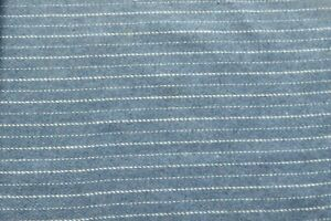 Two-Small-Reclaimed-Tweed-Fabric-Remnants-Light-Blue-Pinstripe