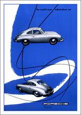 Porsche 356 Classic Porsche marketing print-- A3