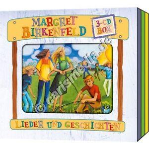 CD-Set-DIE-MARGRET-BIRKENFELD-BOX-3-drei-CDs-Kinderlieder-amp-Hoerspiele-CM
